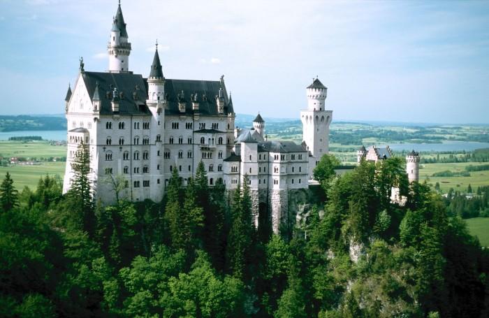 Slottet Neuschwanstein i Schwangau