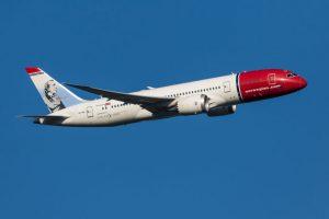 Norwegian boeing 787-8 dreamliner