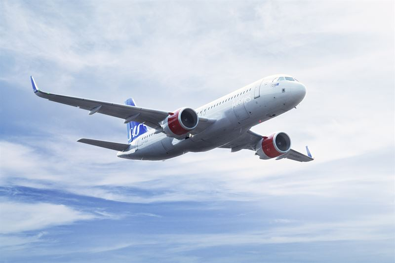 6 nya destinationer och 17 nya direktlinjer hos SAS 2019